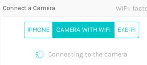 How to Connect to your Camera | Wifibooth